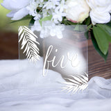 Wedding Table Numbers - Wedding Decor Gifts