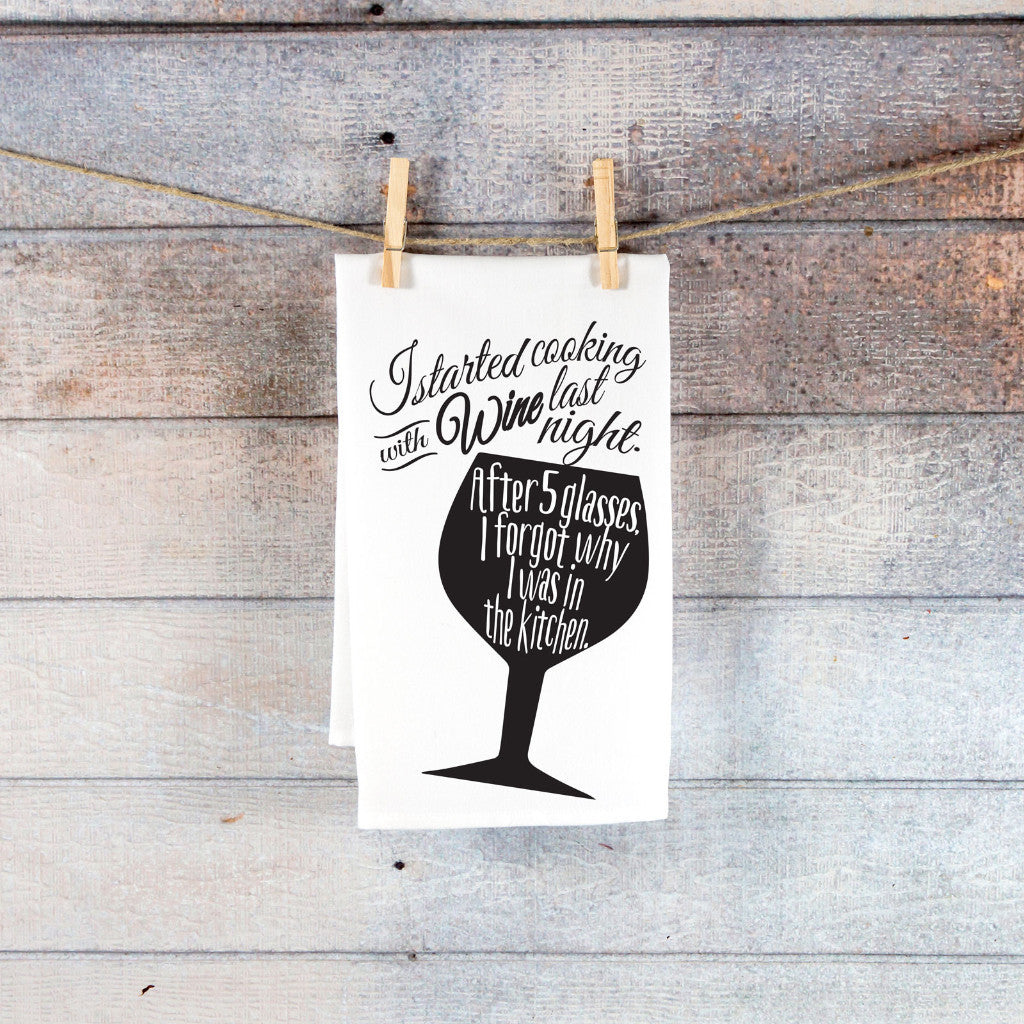 Funny Kitchen Tea Towel - Wedding Decor Gifts