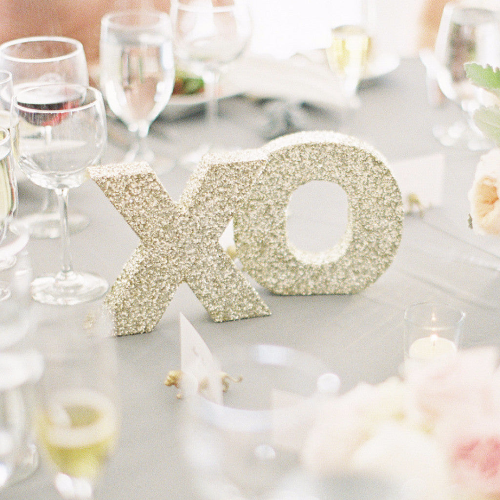 XO Table Signs - Wedding Decor Gifts
