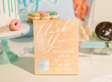 Sweets Favor Wedding Sign - Wedding Decor Gifts