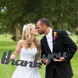 Thank You Sign Wedding Photo Prop - Wedding Decor Gifts