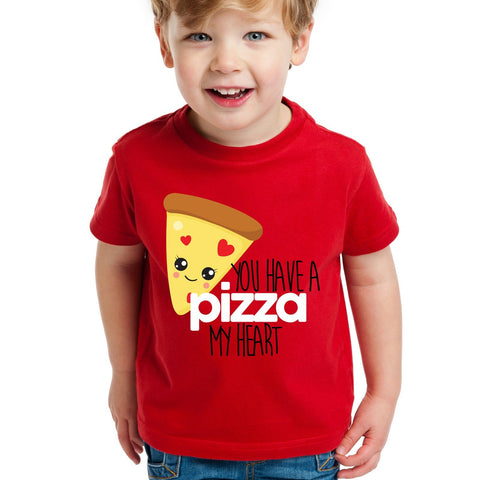 Pizza Valentine's Day Shirt for Kids or Toddlers