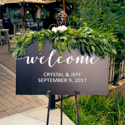 Welcome Sign for Wedding - Wedding Decor Gifts