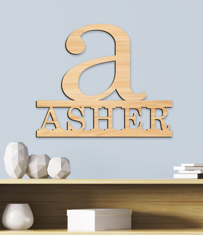 Name Sign, Letter for Wall Sign, Room Decor, Personalized Kids Wood Sign, Wooden Name Sign, Wood Letter Room Kids Name Sign Gift
