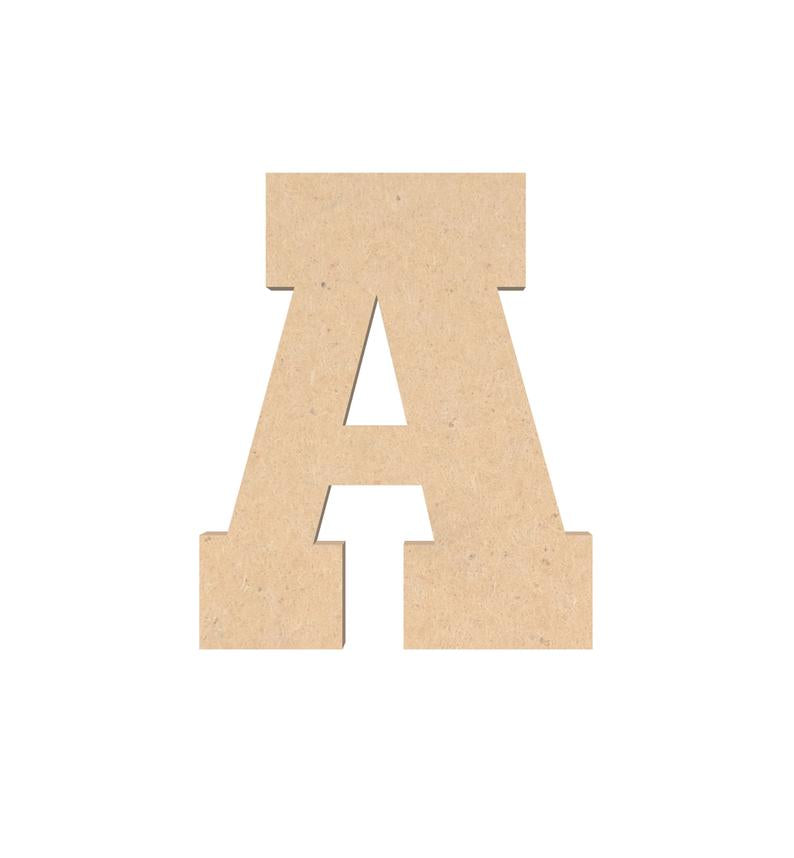 Wooden Letter Unfinished Craft or Wall Sign Decor