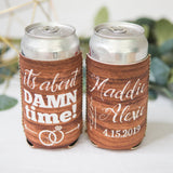 Wooden Style Wedding Favor Drink Holders