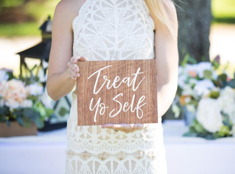 Wedding Treat Sign - Wedding Decor Gifts