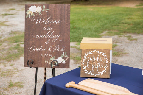 Wedding Welcome Sign - Wedding Decor Gifts