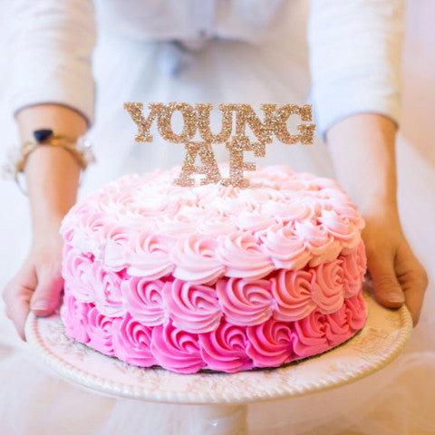 Quot Youngaf Quot Cake Topper Z Create Design