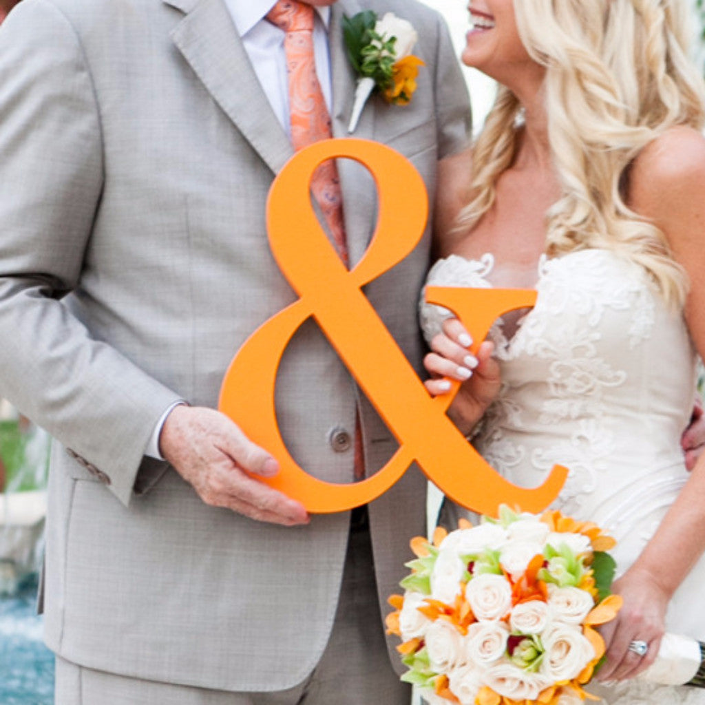 Ampersand Sign - 15 Inch - Wedding Decor Gifts