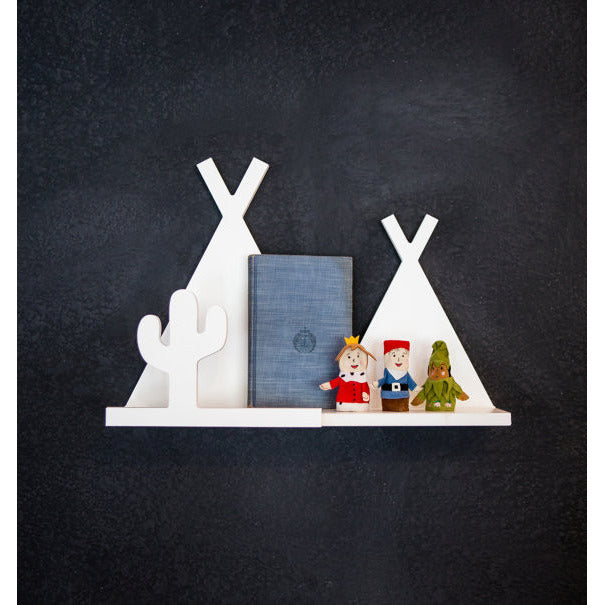 Tee Pee Shelf for Kids Room - Wedding Decor Gifts