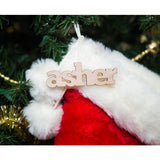 Wooden Names for Stocking - Wedding Decor Gifts