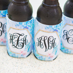 Mermaid Monogram Drink Holder