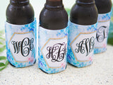 Mermaid Monogram Drink Holder - Wedding Decor Gifts
