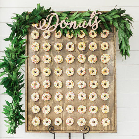 """Donuts"" Sign"