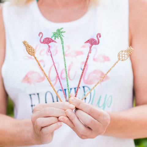 Tropical Party Drink Stirrer