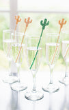 Cactus Party Stir Sticks - Wedding Decor Gifts