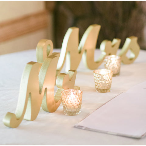 1 Mr and Mrs Signs for Wedding Table Decor – Z Create Design