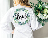 Wedding Robes for Bride & Bridesmaids - Wedding Decor Gifts
