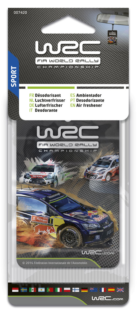 WRC Scented card, sport