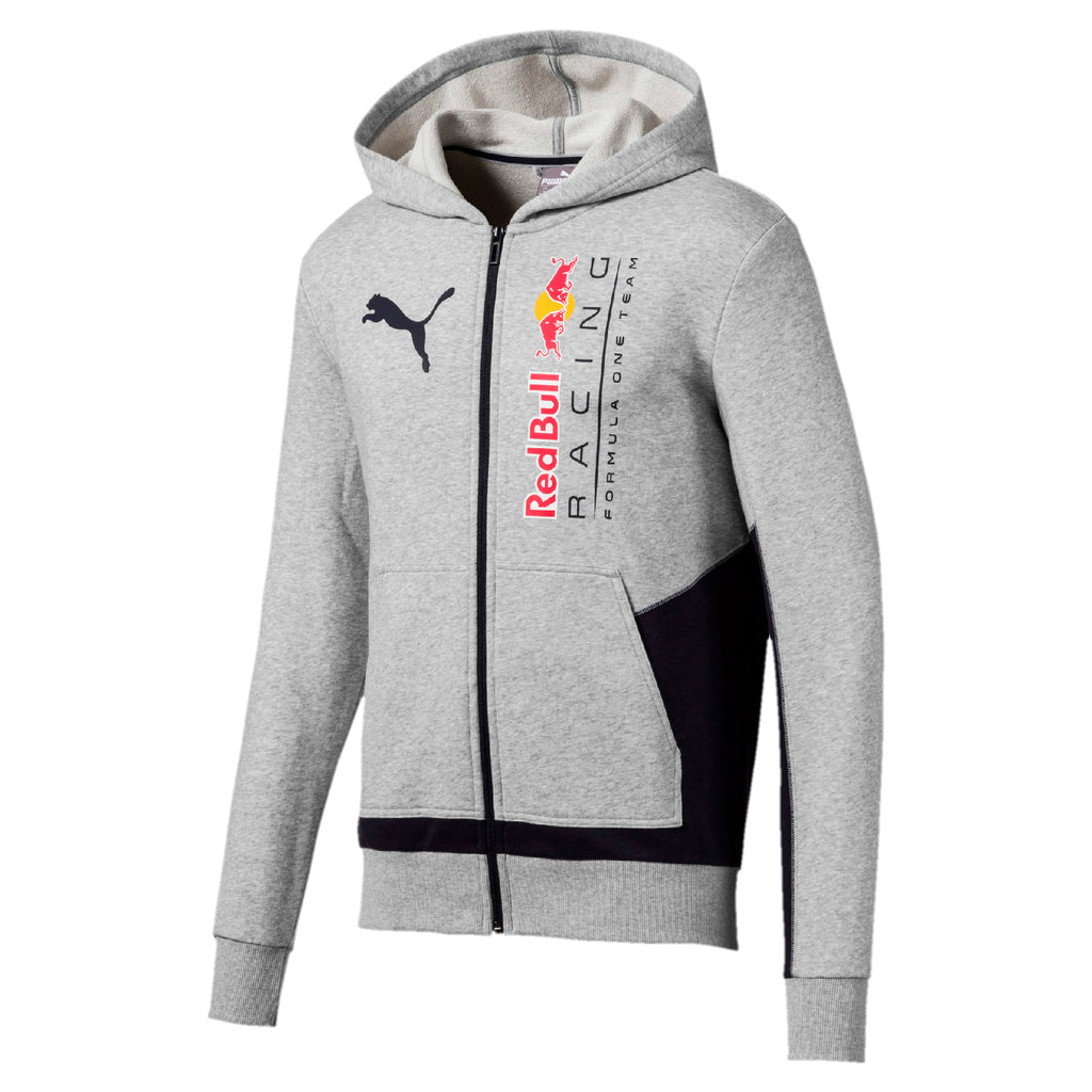 Red Bull Racing Logo Hooded Sweater Jacket