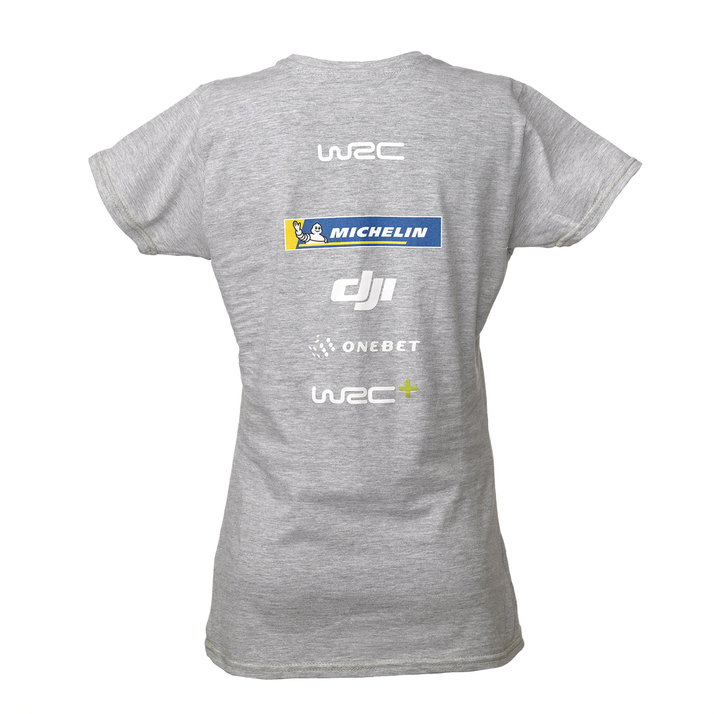 WRC Logo T-Shirt Grey Women