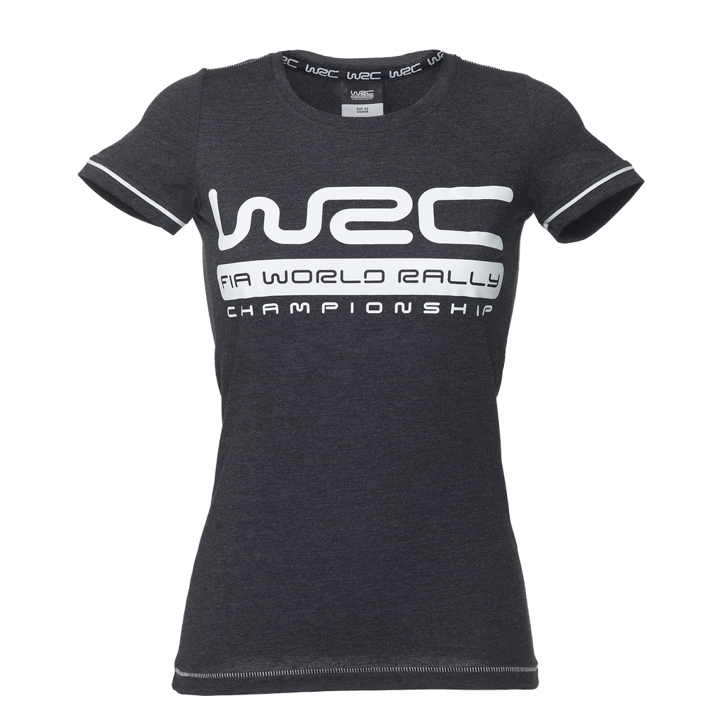 WRC T-SHIRT DARK GREY WOMENS