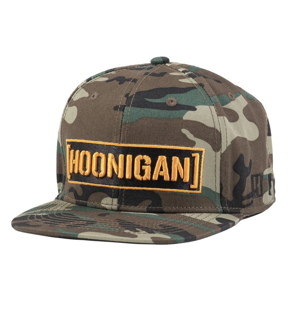 Hoonigan Censor Bar Snapback Camo