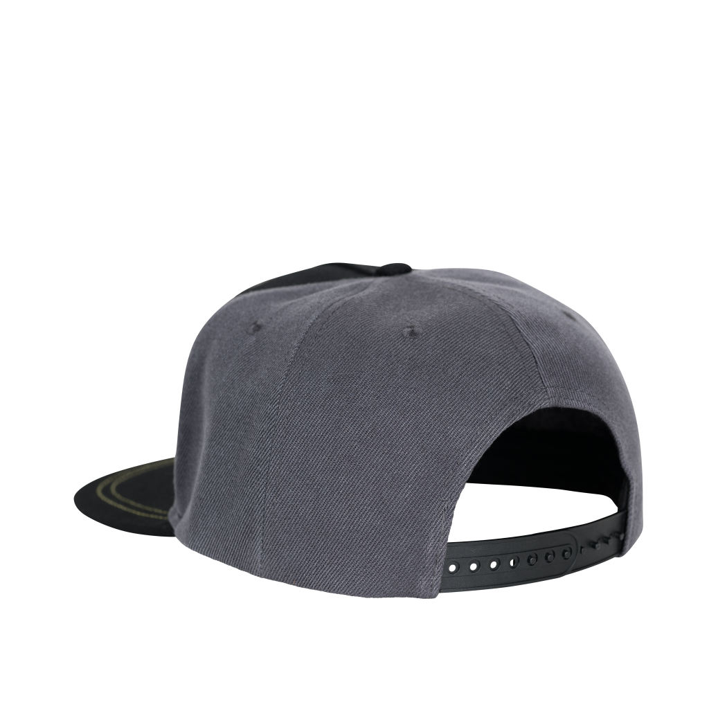 RX Puff Print Snapback Grey/Black