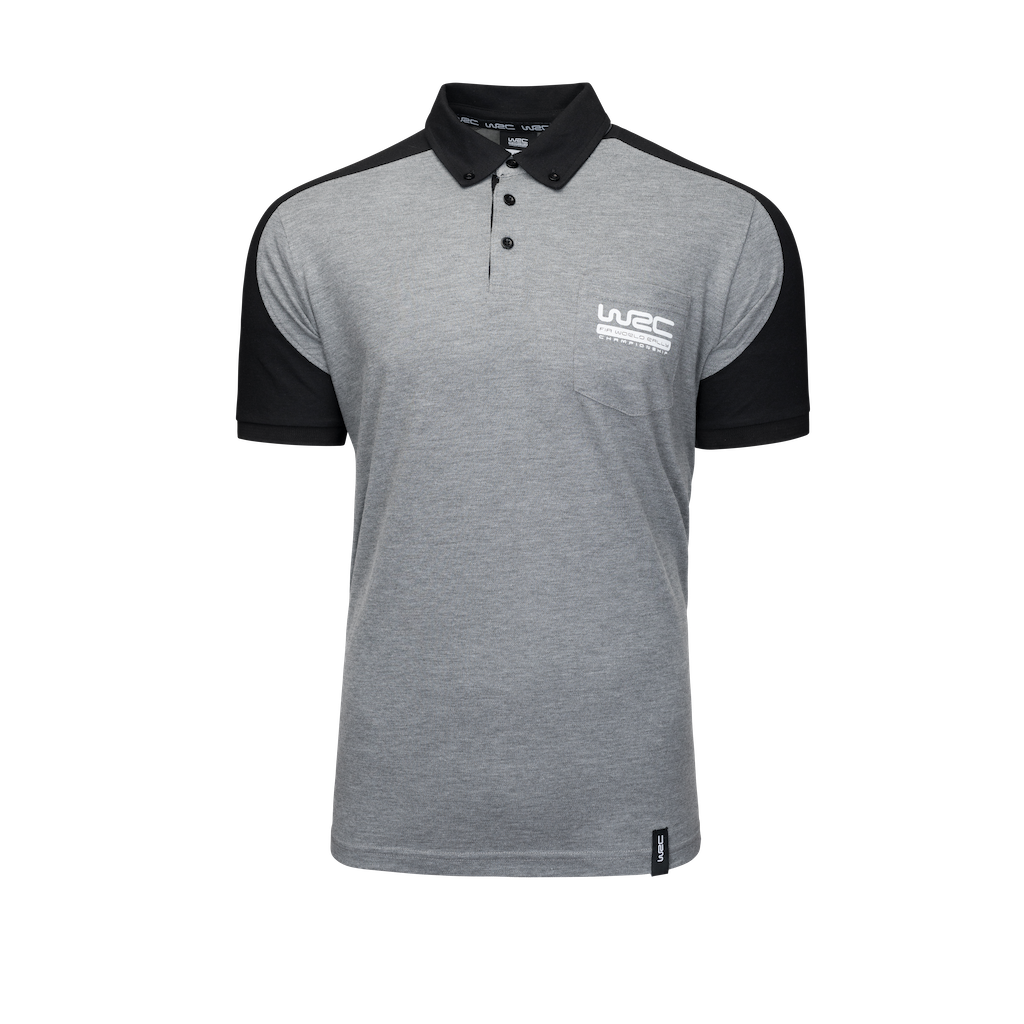 WRC Raglan Grey Polo
