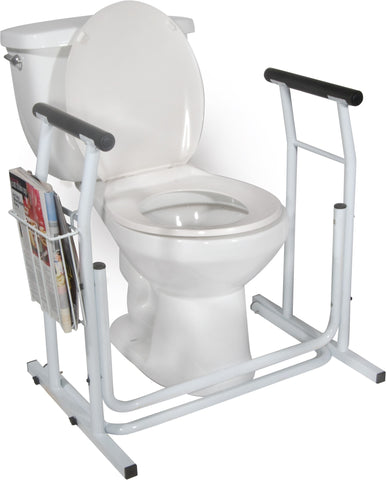 Standalone Toilet Support Rail