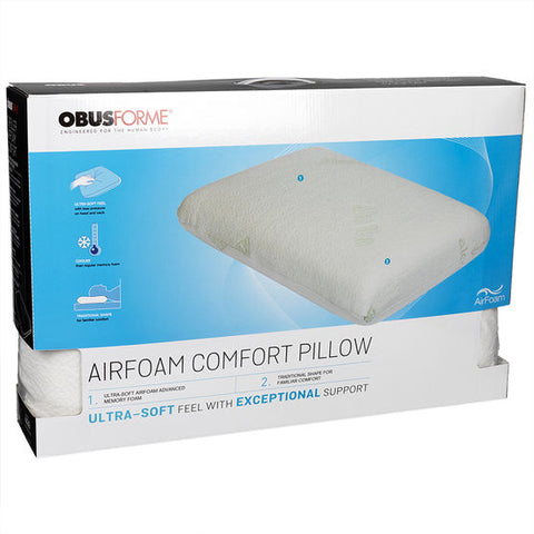 Obusforme AirFoam Comfort Pillow