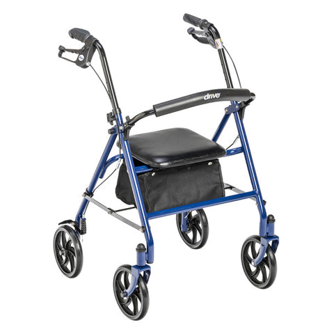 "Drive Rollator Walker Low, 7.5"" Casters"
