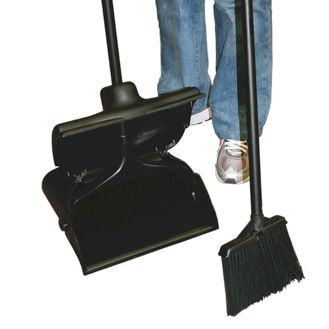 Lobby Style Dust Pan And Broom
