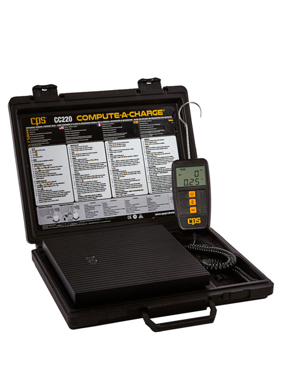 CC220 - Compute-a-Charge Refrigerant Scale