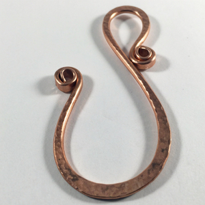 Key Hook in Heavy Copper