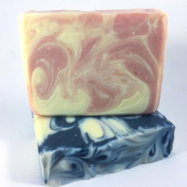 Unscented Bastille Sweet Soap with Rose Kaolin Clay