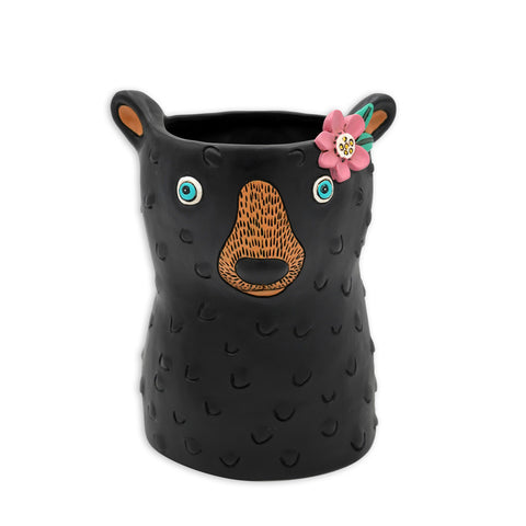 Baby Black Bear Planter