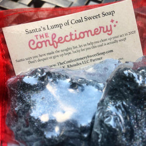 Lump of Coal Soap with Activated Charcoal