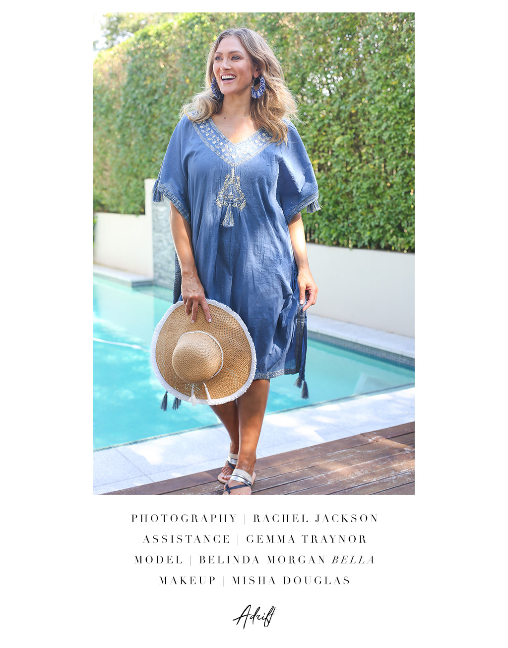 Lola Kaftan in Blue