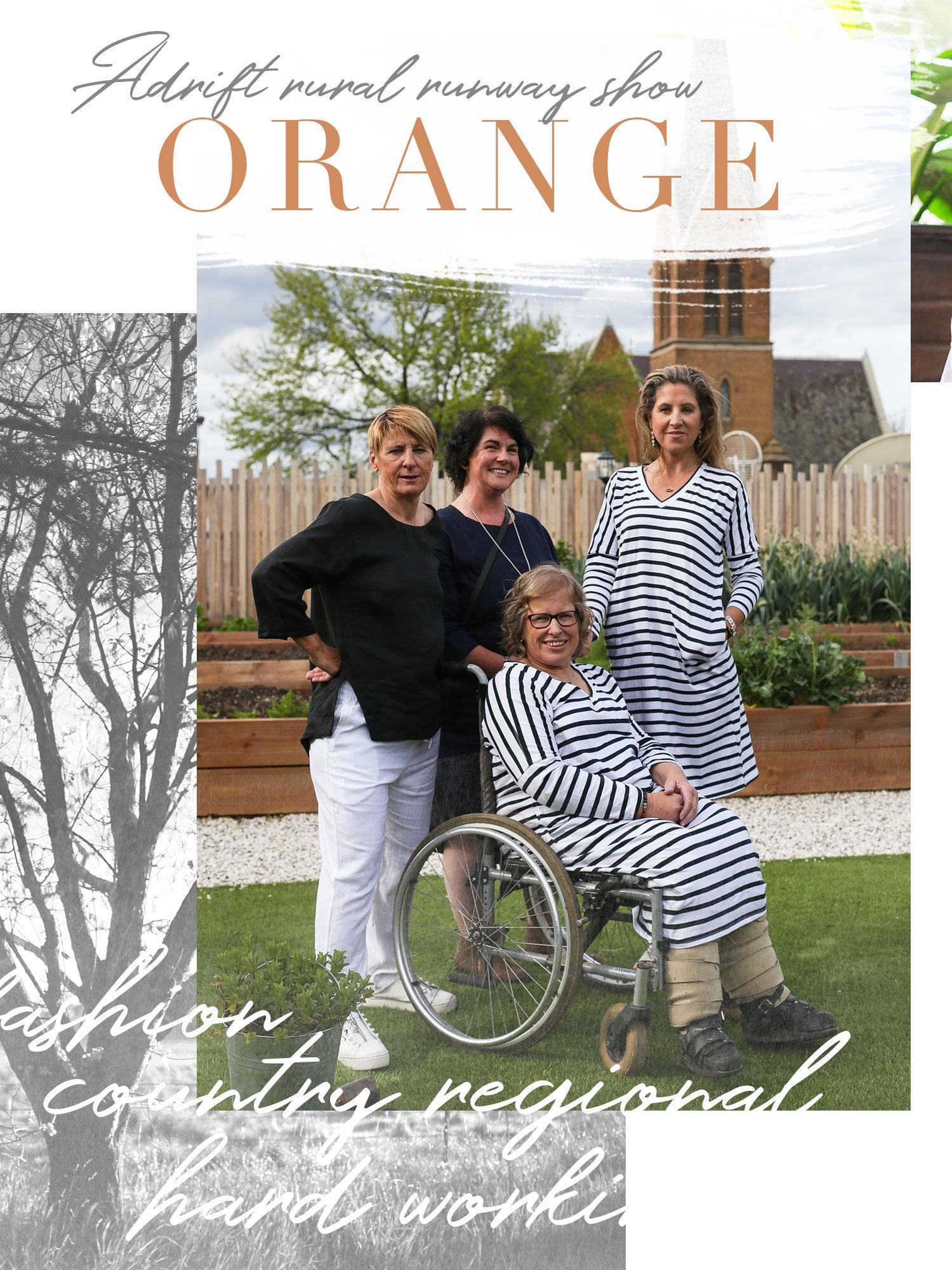 Women from Womens Shed Orange in photo