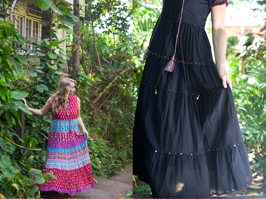 Kate Dress and Bombay Dress