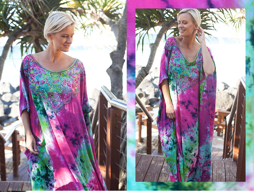 Julia Kaftan in Purple