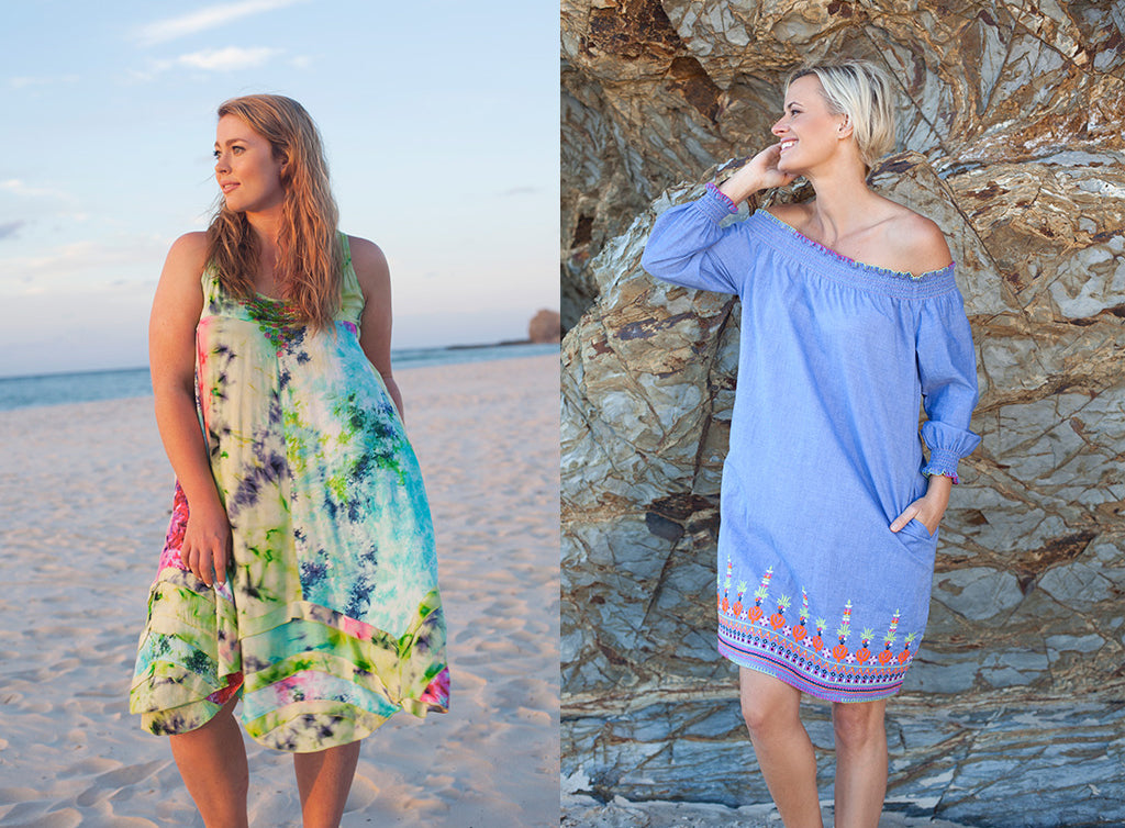 Laguna Dress and Savannah Dress