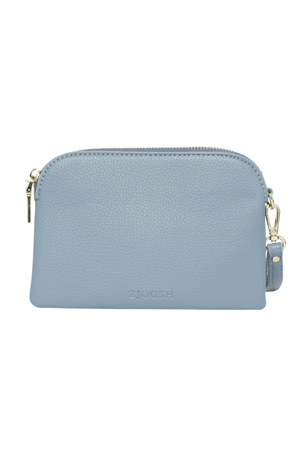 Mini Hugo Purse in Denim