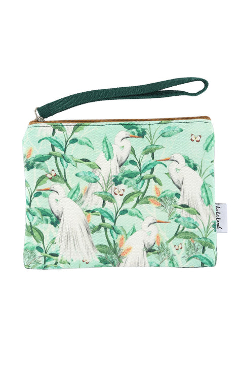 Coin Purse in Ethereal Birds