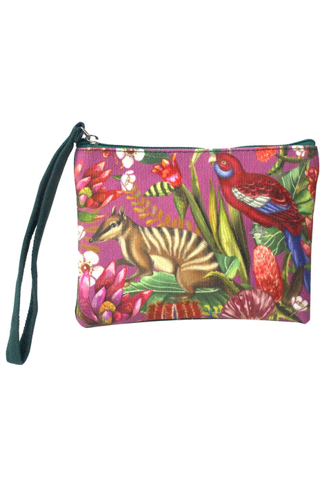 Coin Purse in Exotic Paradiso