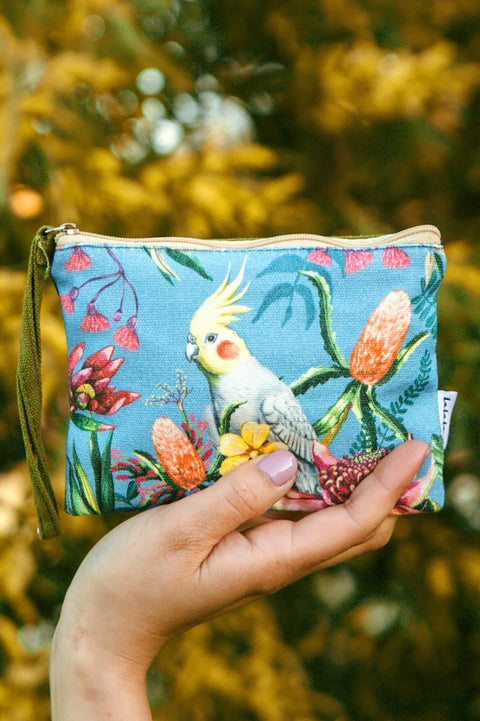 Coin Purse in Floral Paradiso