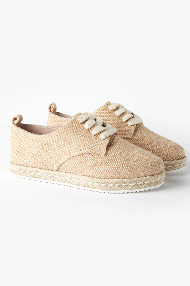 Giselle Espadrille in Tan