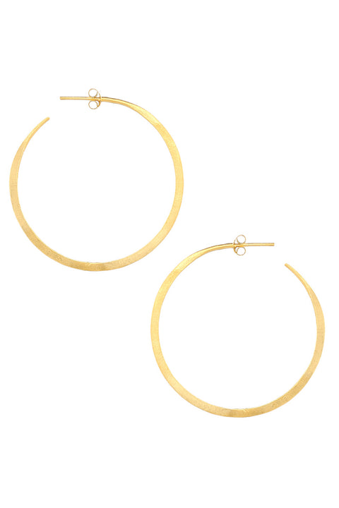 Gina Hoops in Gold
